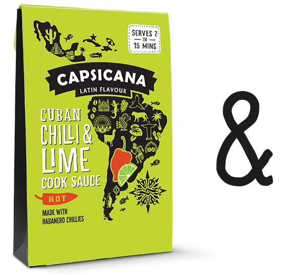 Capsicana Cuban Chilli & Lime - Recipes