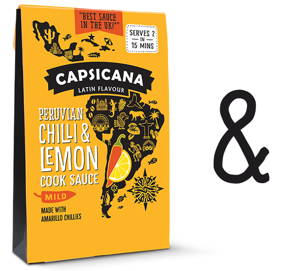Capsicana Peruvian Chilli and Lemon Cook Sauce - Recipes