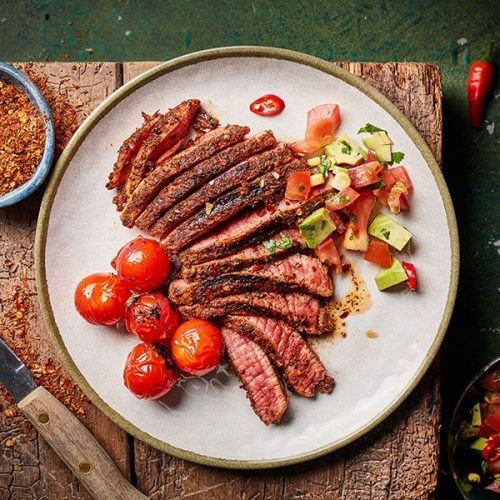 Capsicana Recipes - BBQ Steak
