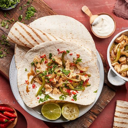 Capsicana Recipes - Cuban Chicken Fajitas