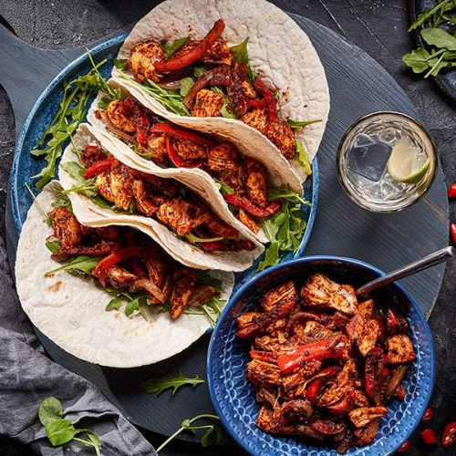 Capsicana Recipes - Chicken Fajitas