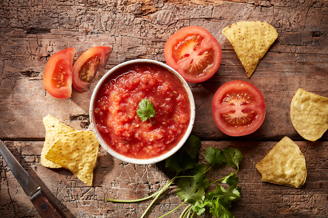 Capsicana Recipes - Mild Salsa
