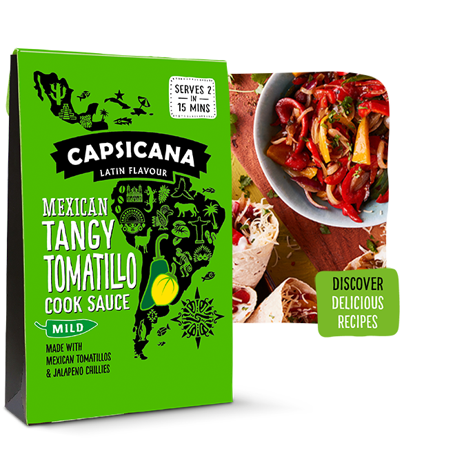 Capsicana - Tangy Tomatillo Latin American Cook Sauce
