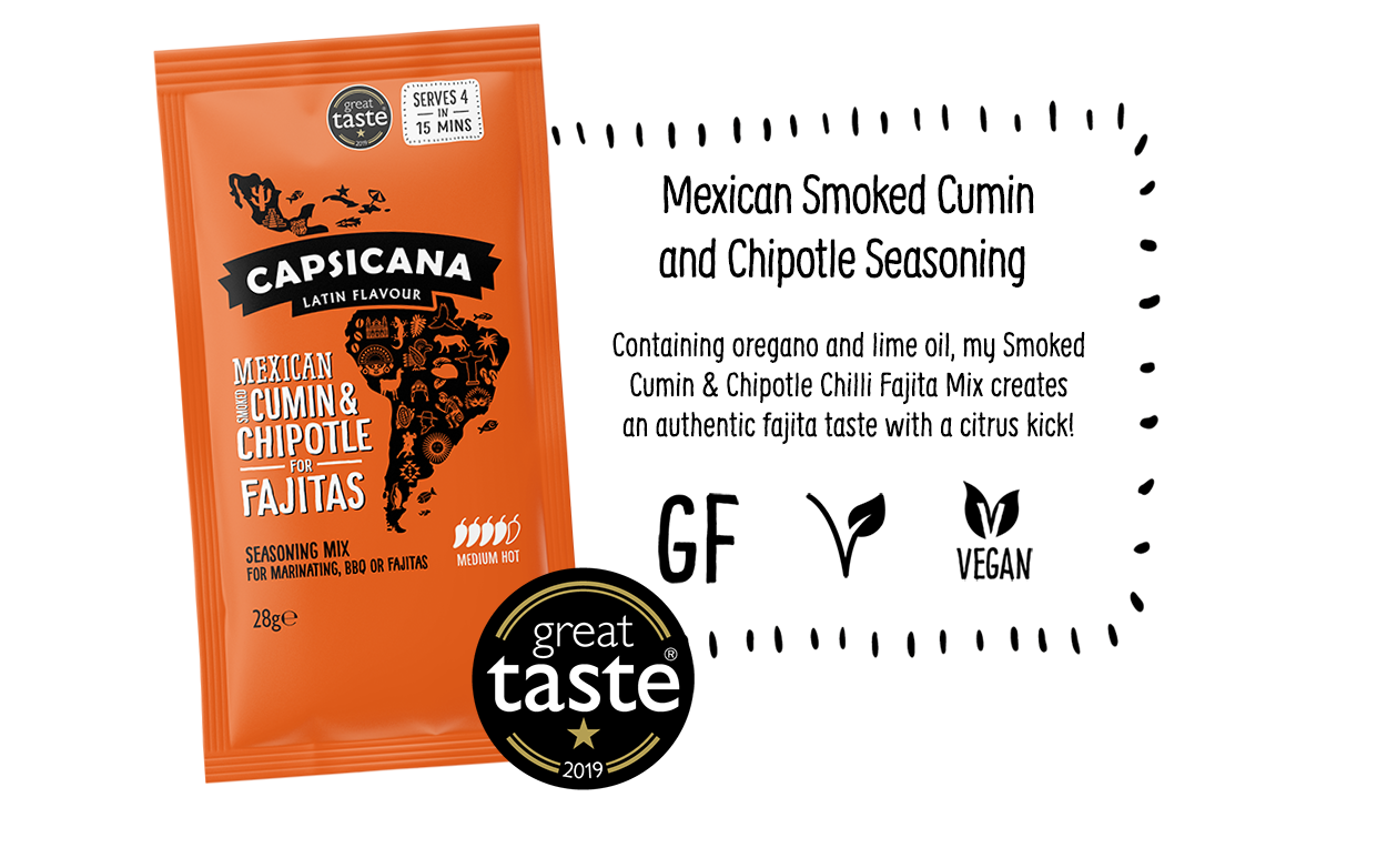 Capsicana - Mexican Cumin & Chipotle Latin America Seasoning