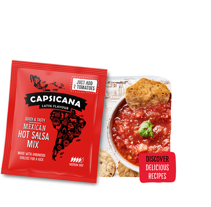 Capsican Hot Salsa Mix