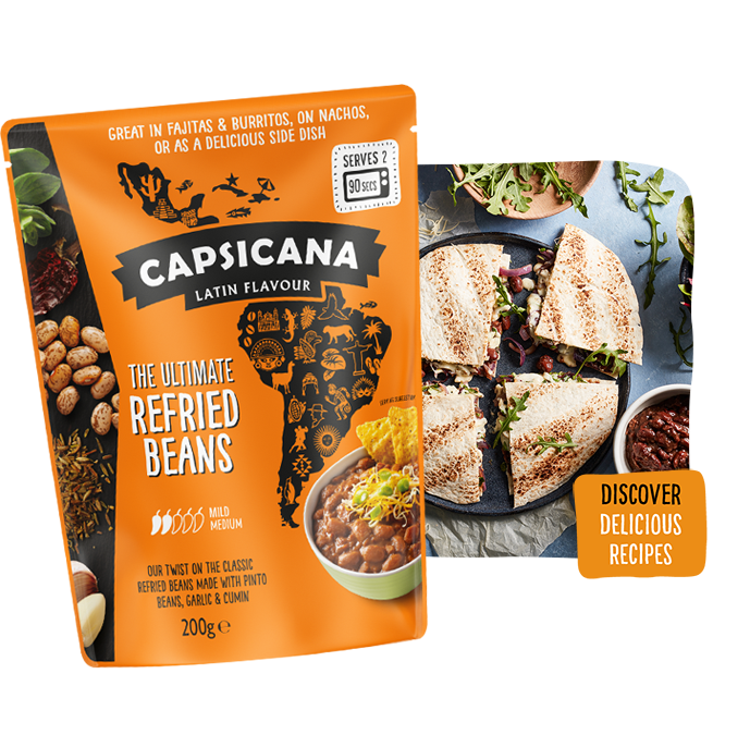 Capsicana Ultimate Refried Pinto Beans