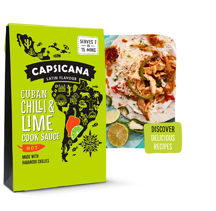 Capsicana - Cuban Chilli & Lime Latin American Cook Sauce