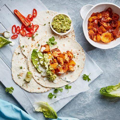 Capsicana Recipes - Brazilian Chicken Fajitas