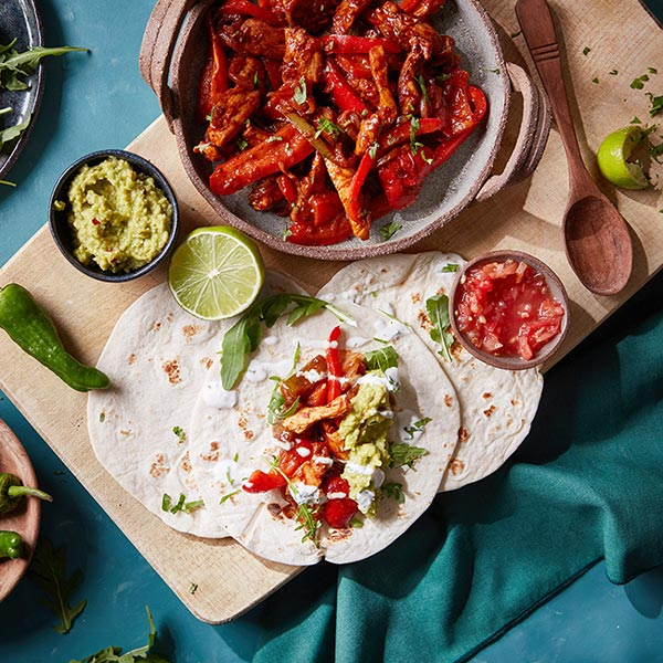Capsicana Recipes - Mexican Chicken Fajitas