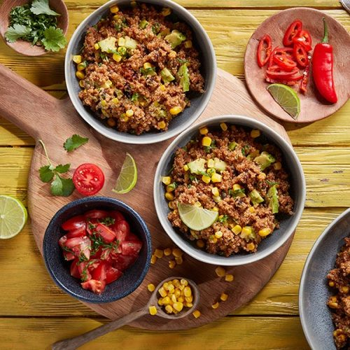 Capsicana Recipes - Mexican Chilli & Honey Quinoa