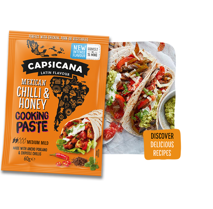 Capsicana - Mexican Chilli & Honey Cooking Paste