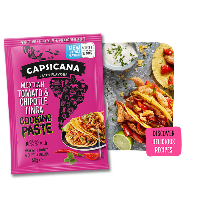 Capsicana - Mexican Tomato & Chipotle Tinga Cooking Paste