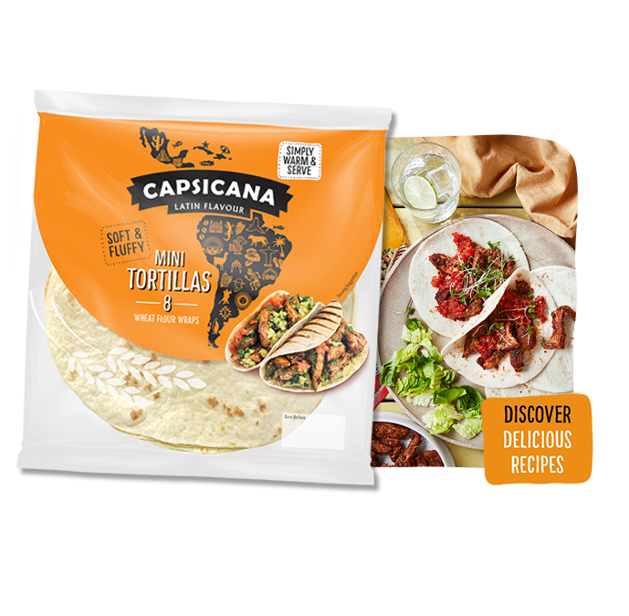 Capsicana Small Tortillas