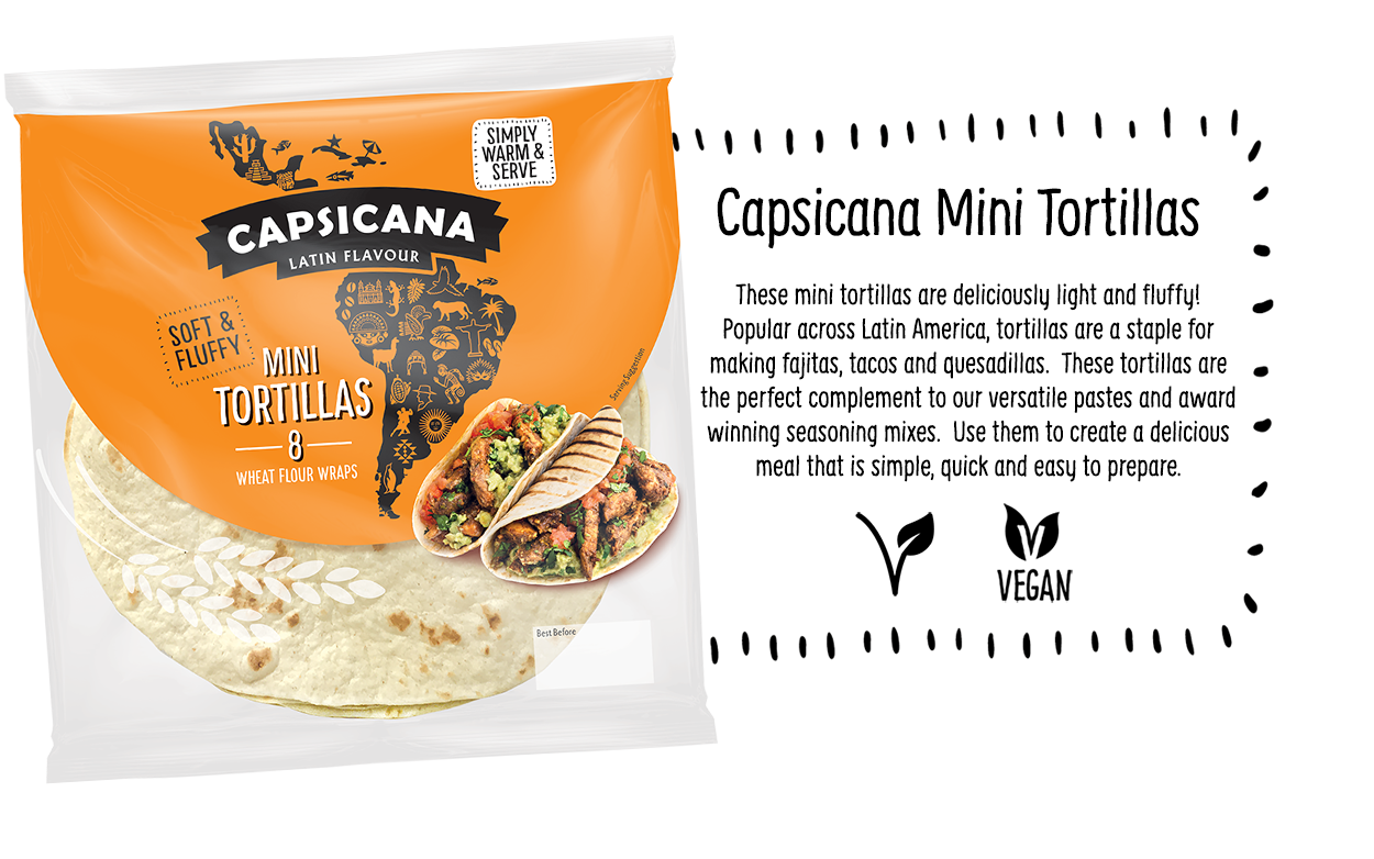 Capsicana Mini Tortillas