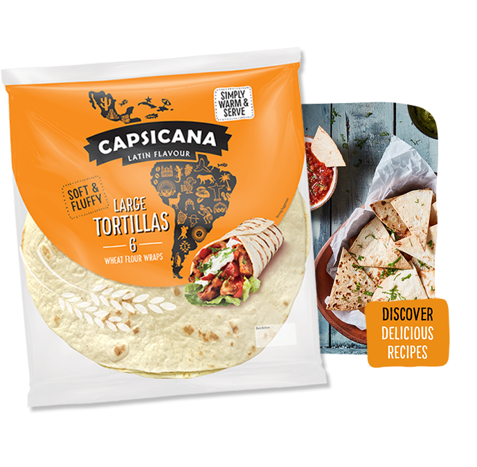 Capsicana Large Tortillas