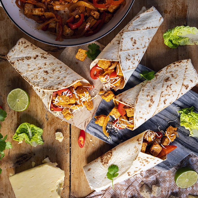 Capsicana Recipes - Quorn Meat Free Fajitas